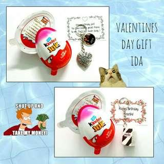 🚚 Valentines day gift idea Customized kinder joy