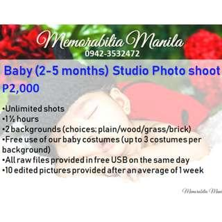 Baby Studio Photo Shoot Service