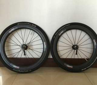 Controltech 406 Carbon Wheelset 74mm/130mm
