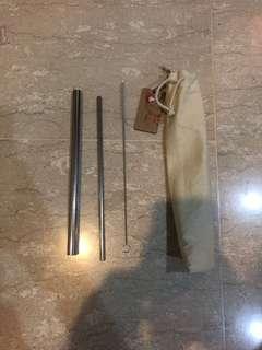 Metal straw by Kfc