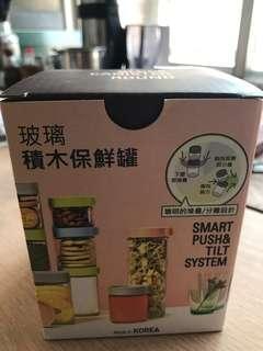 🚚 玻璃積木保鮮罐