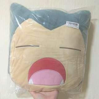 Authentic Snorlax Pokemon anime pillow
