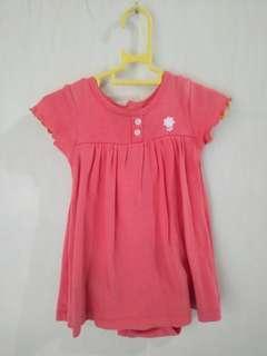 Preloved baby romper dress