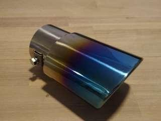 Straight exhaust tip (universal)