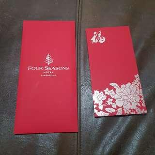 2019 Four Seasons Singapore Red Packets @ $12