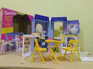 Doll House barbie shop bake and cafe 1998
