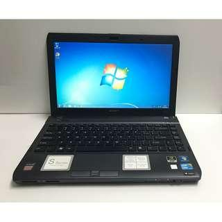 "Sony VAIO VPCS117GG 13.3"" laptop,i5,4GB,500GB,獨立顯示卡"