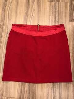 Maternity Hot Pink Skirt