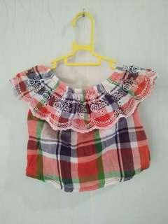 Preloved baby blouse