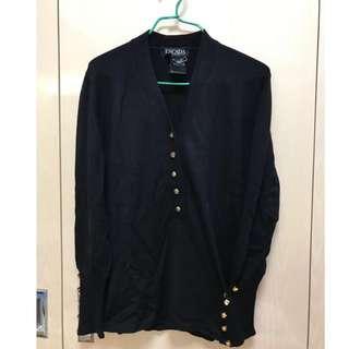 Escada 羊毛 Pullover Black
