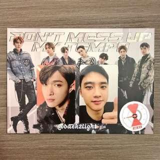 EXO <DON'T MESS UP MY TEMPO> Vivace edition Korean 1st press edition - D.O Lay Photocard