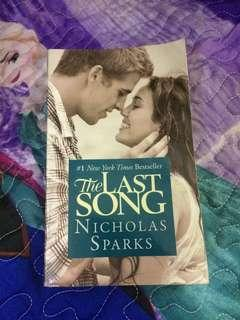 Prelpved book: The last song