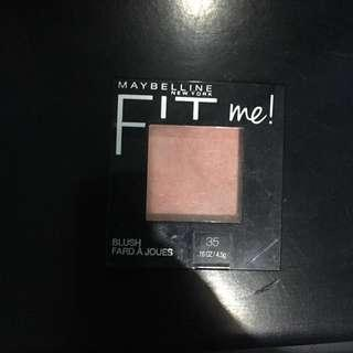 [Prelove] Maybelline Fit me blush shade no 35