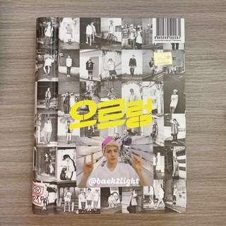 EXO 1st Repackage Album  <GROWL> Korean 1st press  + Sehun ver B Photocard