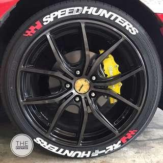 Speedhunters Tiresticker Tire Sticker Tire Decal