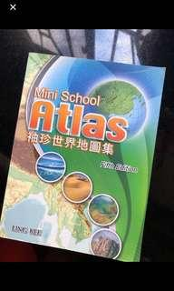 Mini school atlas 袖珍世界地圖集