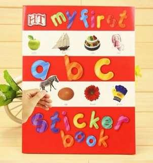 🚚 ABC Sticker Book
