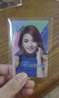 (WTS) TWICE Chaeyoung Unpunched Lotte Duty Free photocard