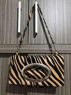 Gosh Leopard Clutch Bag