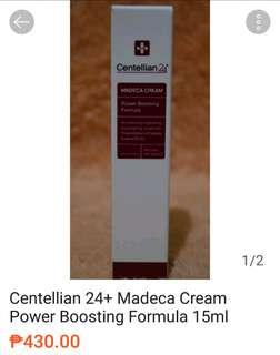 CENTELLIAN 24 New Madeca Cream Power Boosting Formula 15ml