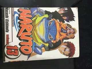 Shonen Jump Naruto Volume 13
