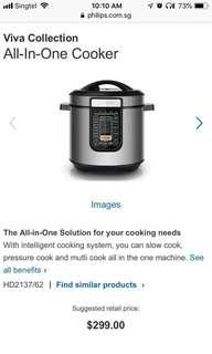 Philips HD-2137/62 All-in-One Pressure Cooker