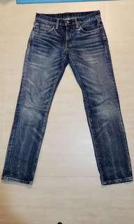 Levi's 511 牛仔褲 Denim 古著 Vintage Levis