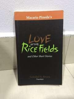 (PRE-LOVED) Love in The Rice Fields and Other Short Stories by Macario Pineda