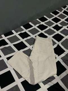 Uniqlo Cream Chino Pants