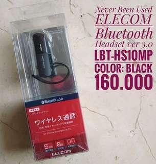 ELECOM Bluetooth Headset Ver 3.0  LBT-HS10MP, black
