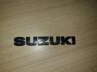 Emblem suzuki for swift vitara jimmy