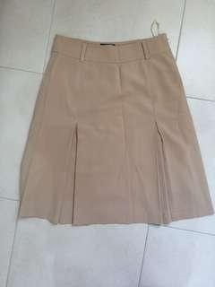 Padini Beige A-Line Skirt
