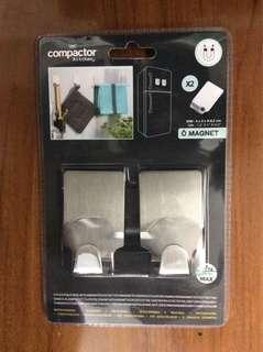 Compactor磁鐵掛鉤 2入組