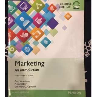 行銷用書 Marketing An Introduction 13e