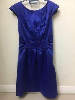 Brand New Authentic Karen Millen blue dress