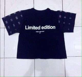 Limited Edition Crop Top