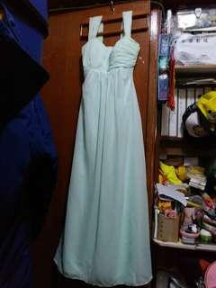 Tiffany Green長身裙/姊妹裙/Grad dinner裙