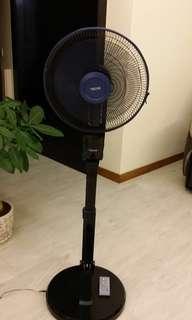 TECNO 2-IN-1 Foldable ECO Fan (Stand and Desk Fan)