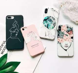(PO) Soft TPU Phone Case For iPhone 6S Case Silicone Black