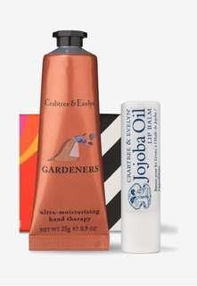BN Crabtree & Evelyn Gardeners Hand Therapy (25g) and Jojoba Oil Lip Balm (4.2g)