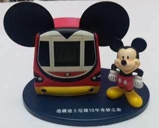 港鐵 米奇電子鐘 迪士尼綫10週年奇妙之旅