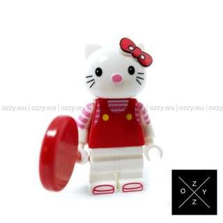 Lego Compatible Minifigures : Hello Kitty (Red)