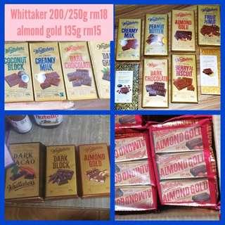 Whittaker 135g , 200g, 250g