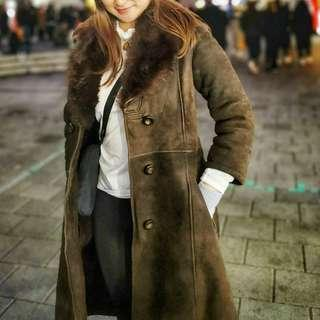 Very Thick Winter Coat Jacket Brown