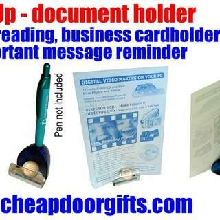 Pageup documents holder