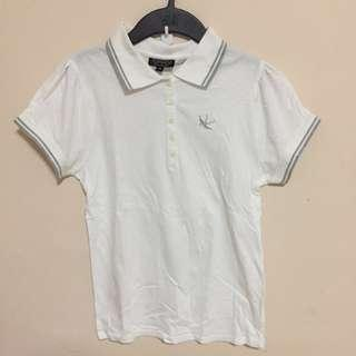 Wore 1x Only - Topshop polo tee size UK12