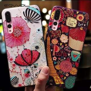 (PO) Cute Cartoon Patterned Phone Case For Huawei P20 P10