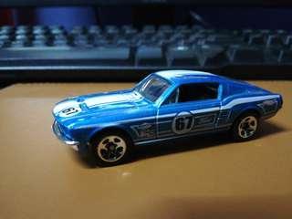 Loose Hot Wheels Ford Mustang '67
