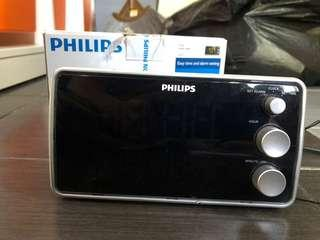 Philips alarm radio clock