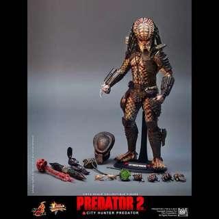 1/6 95%New Hottoys Hot Toys Predators City Hunter AVP MMS173 鐵血戰士 血獸